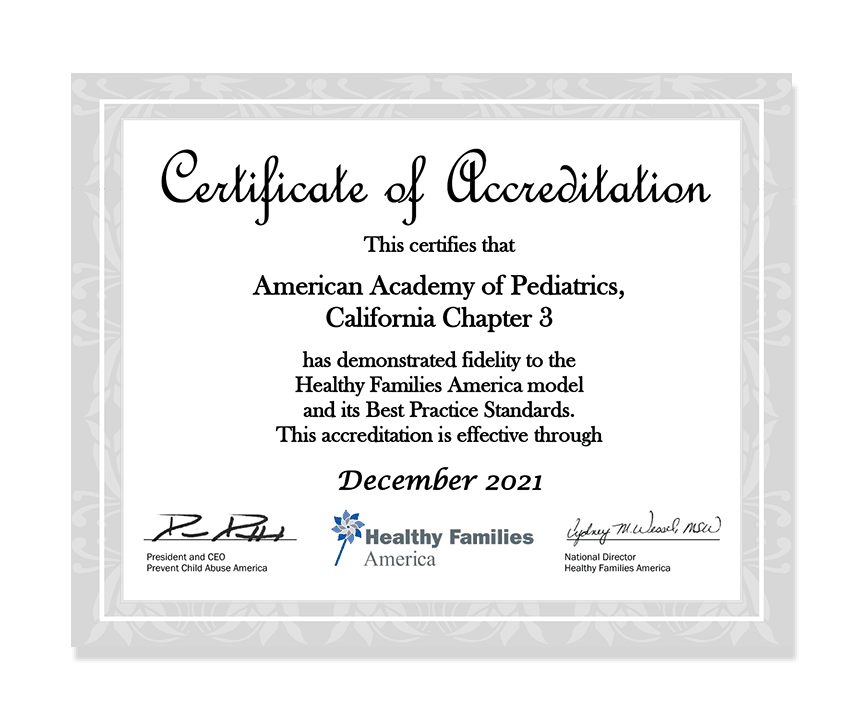 Click to view Accreditation Letter